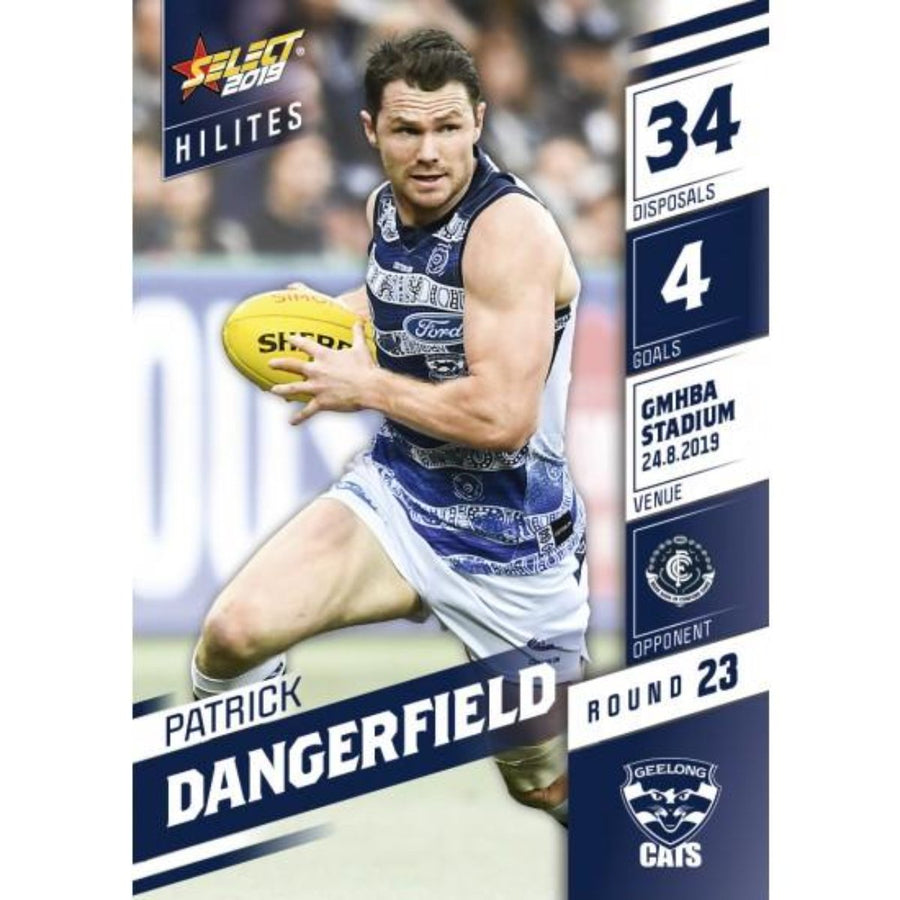 2019 HILITE CARD ROUND 23 - PATRICK DANGERFIELD