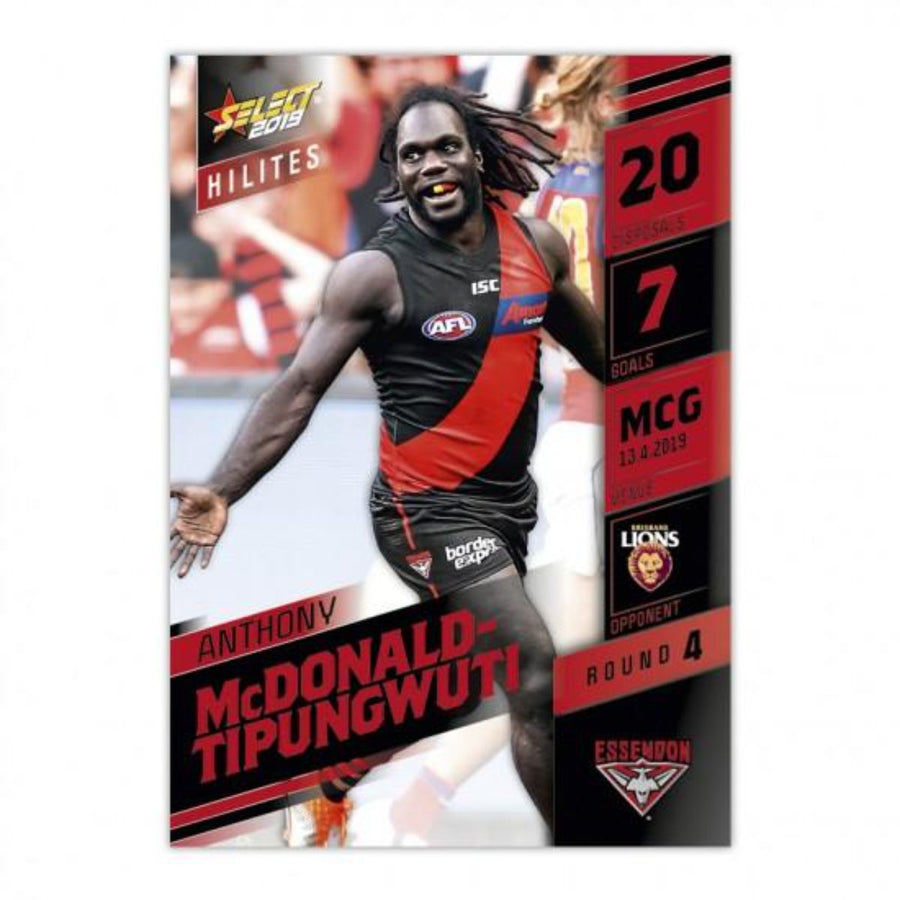 2019 HILITE CARD ROUND 4 - ANTHONY MCDONALD-TIPUNGWUTI