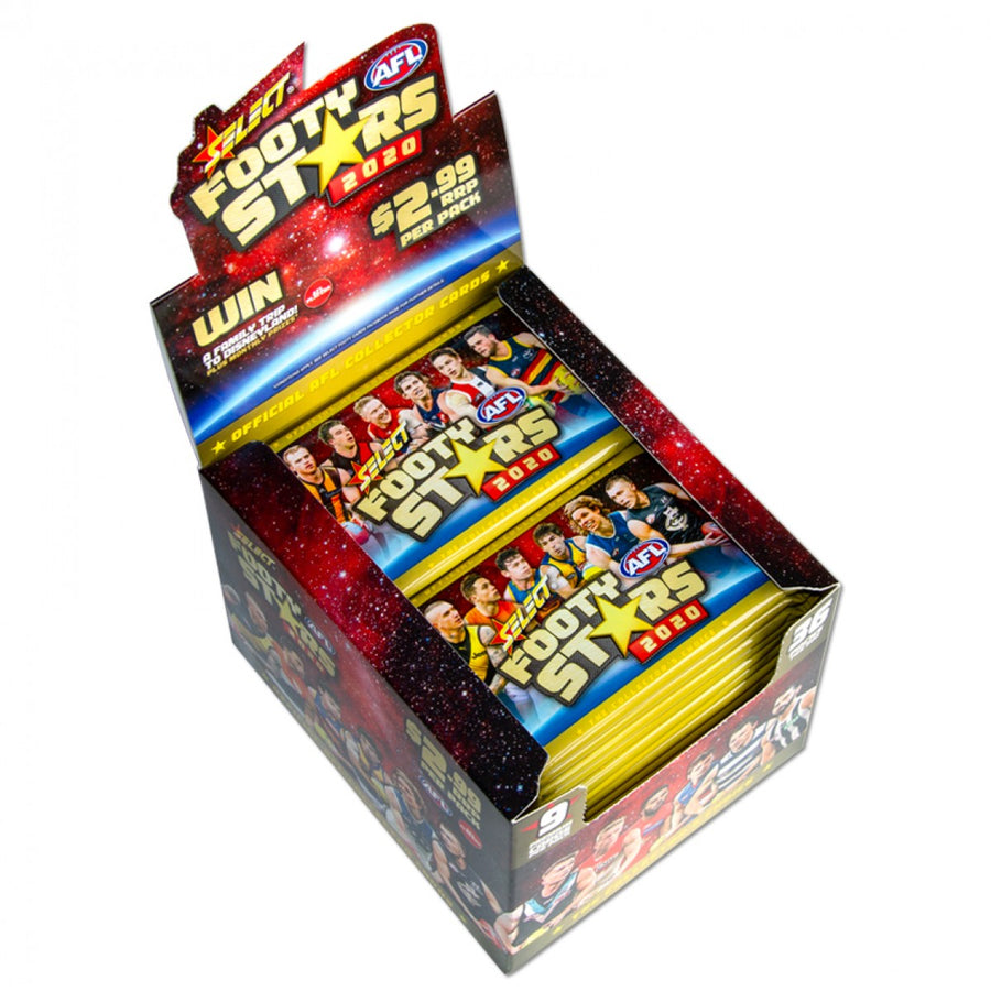 2020 Footy Stars Sealed Box - FREE SHIPPING