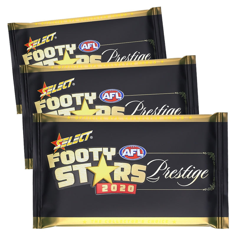 2020 Footy Stars Prestige - Packet