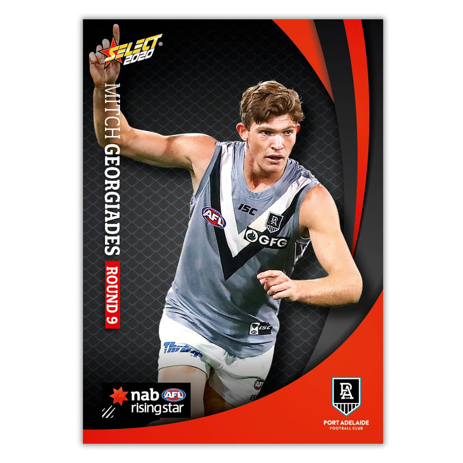 2020 Round 9 Rising Star - Mitch Georgiades - Port Adelaide