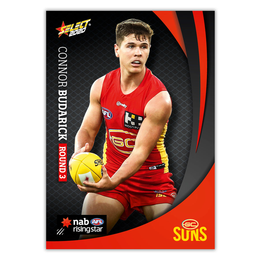 2020 Round 3 Rising Star - Connor Budarick - Gold Coast