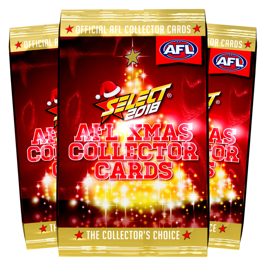 2018 AFL Xmas Packets