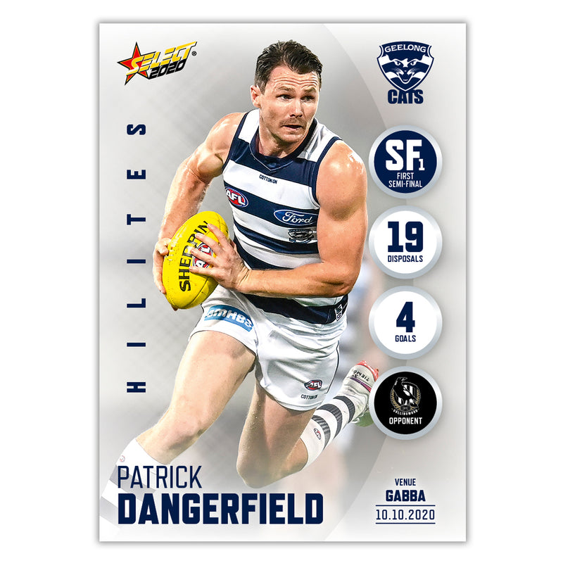 Finals Week 2 Hilite SF1 - Patrick Dangerfield - Geelong