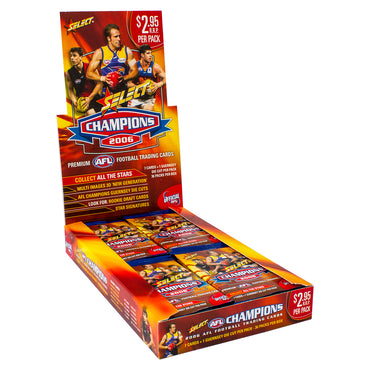 2006 AFL CHAMPIONS CARDS BOX - FREE SHIPPING