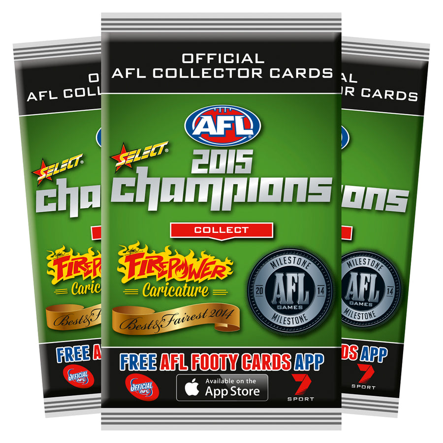 2015 AFL CHAMPIONS PACKETS