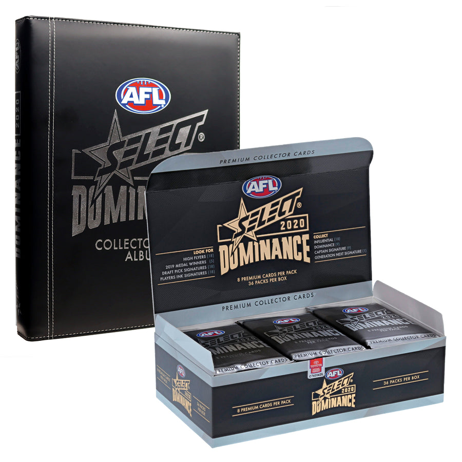 2020 DOMINANCE BOX AND ALBUM BUNDLE - FREE SHIPPING