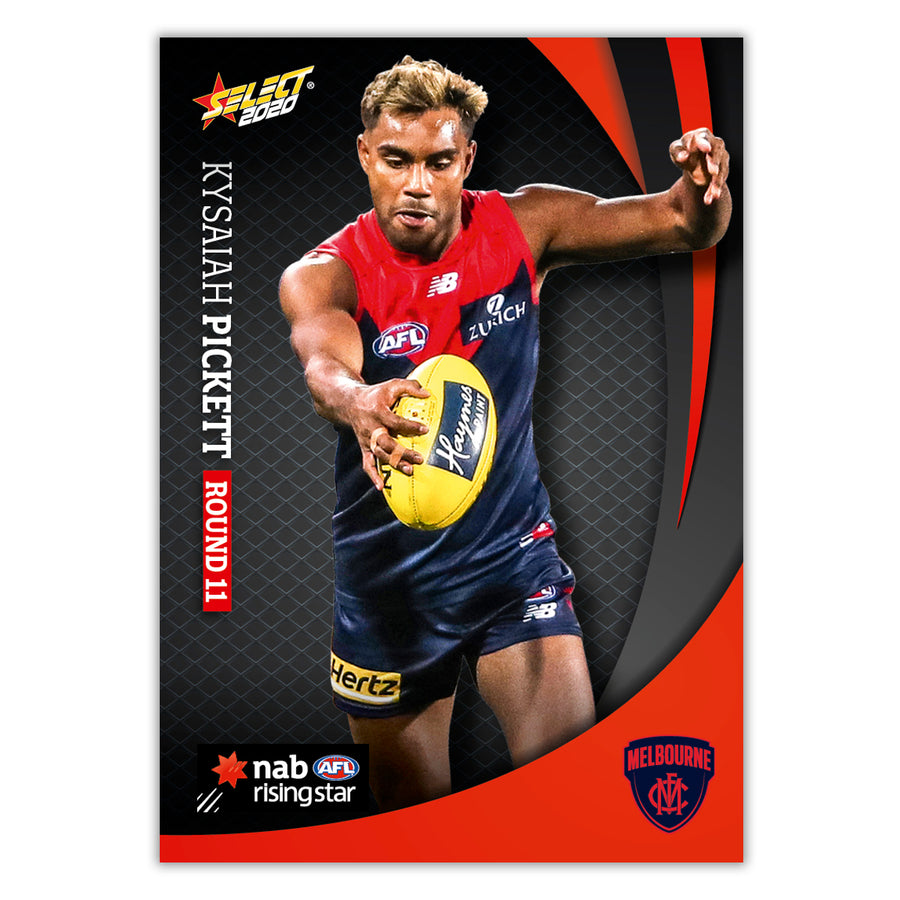 2020 Round 11 Rising Star - Kysaiah Pickett - Melbourne