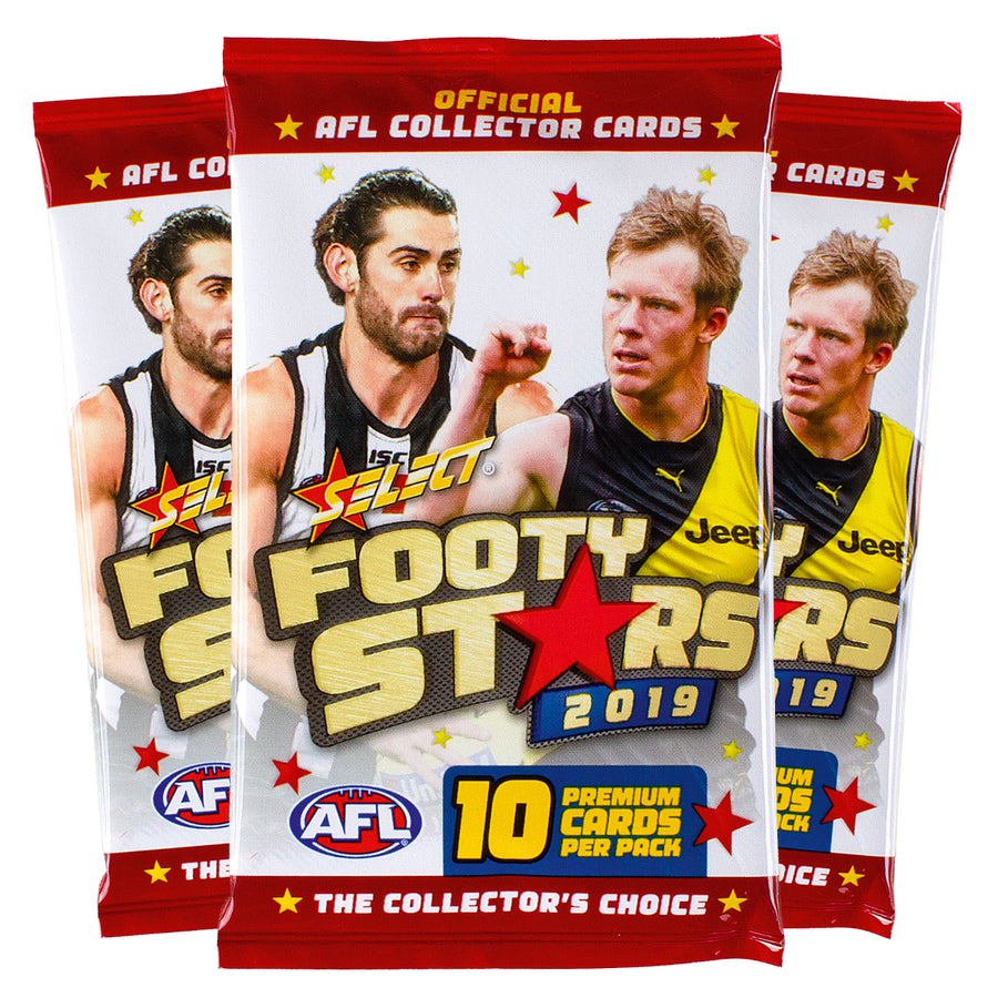 2019 Footy Stars Packets