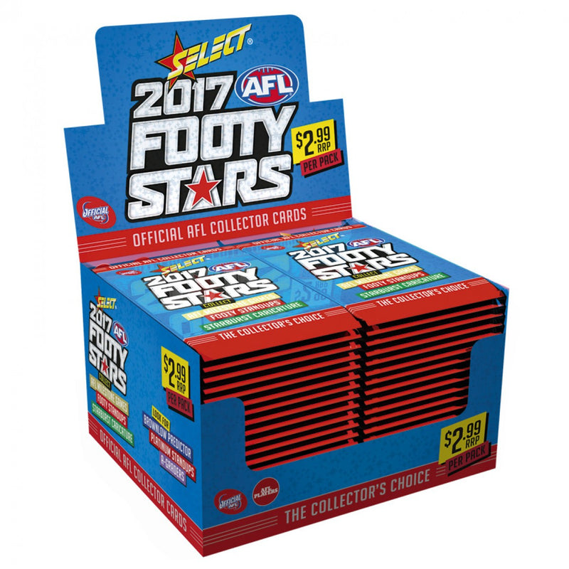 2017 AFL FOOTY STARS BOX
