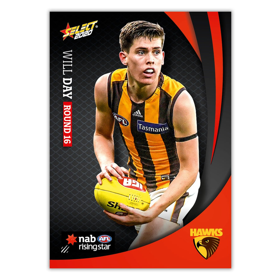 2020 Round 16 Rising Star - Will Day - Hawthorn