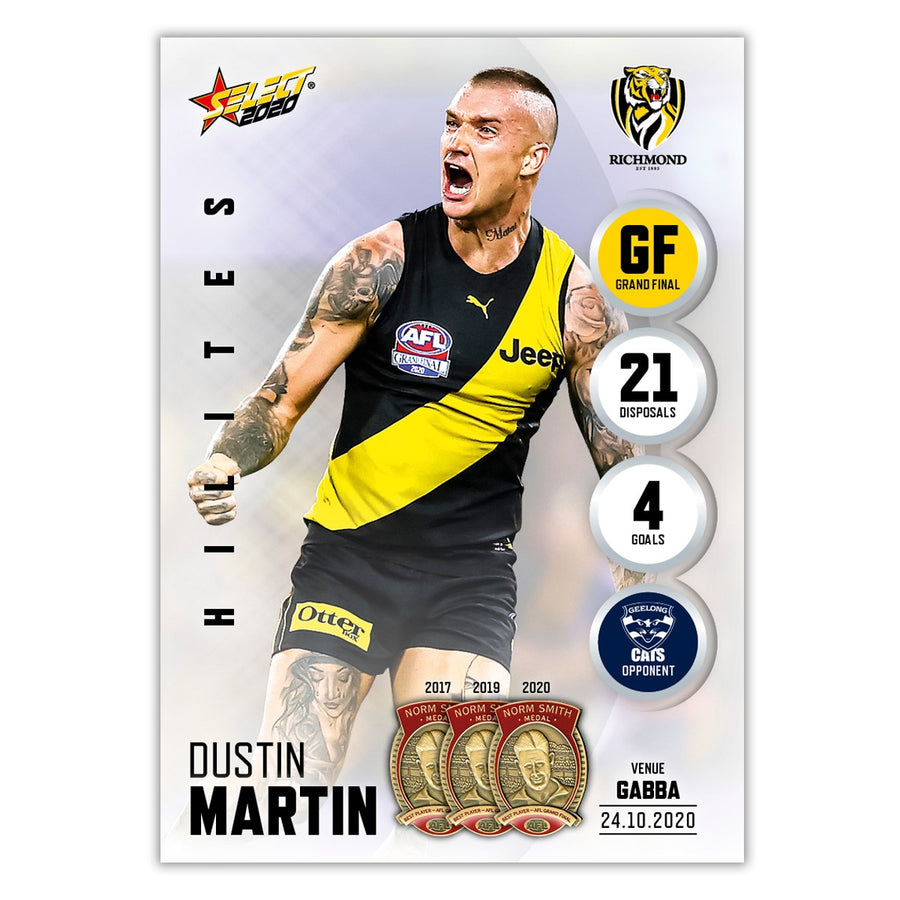 Grand Final Hilite  - Dustin Martin - Richmond