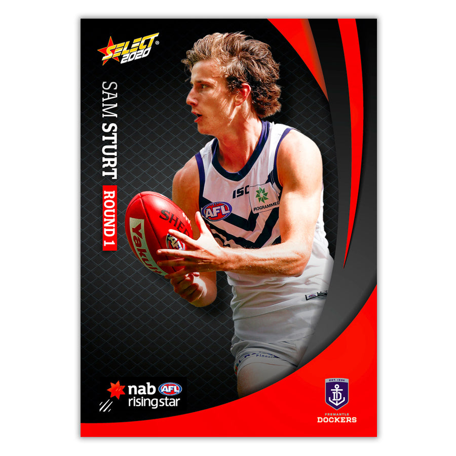 2020 Round 1 Rising Star - Sam Sturt - Fremantle