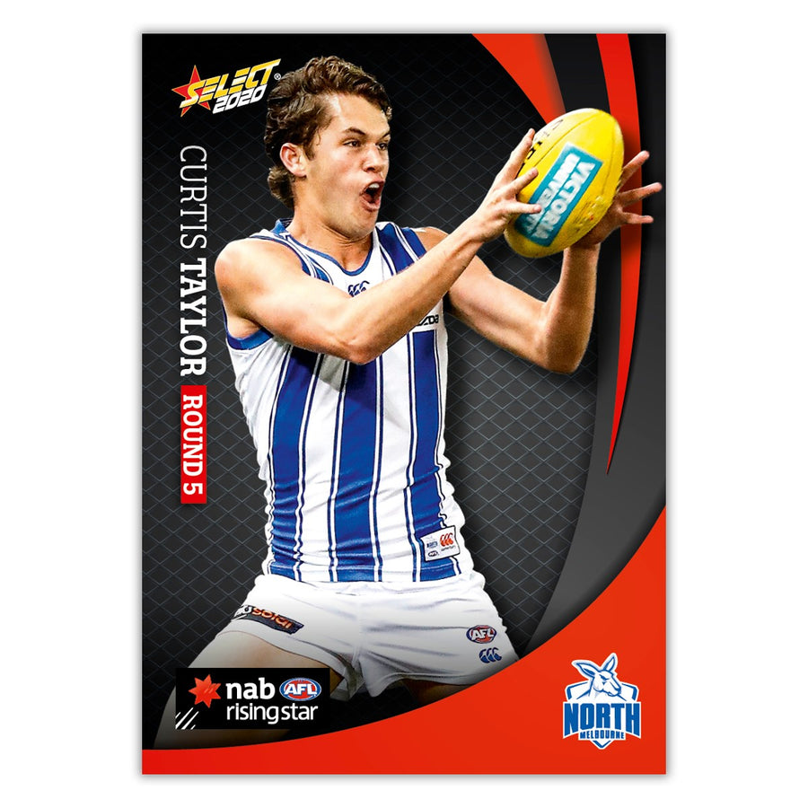 2020 Round 5 Rising Star - Curtis Taylor - North Melbourne