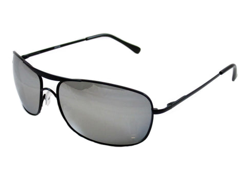 Sunglass Club Aviator Sunglass 7038 Series for Black with Mirror Lens 7038-BLACK-MIRROR-B