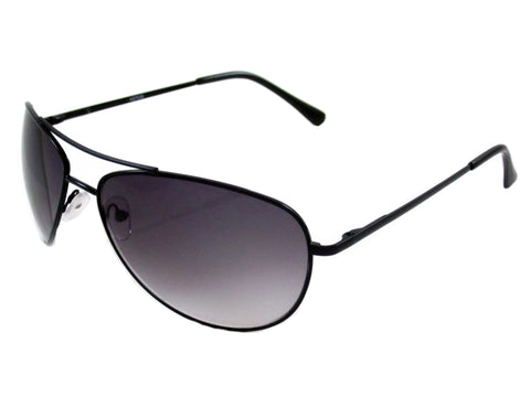 Sunglass Club Aviator Sunglass 7039 Series for Black with Purple Tint Lens 7039-BLACK-PURPLE-B