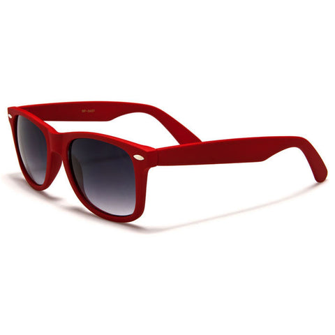 Sunglass Club Wayfarer Sunglass 8032S Series for Red with Purple Tint Lens 8032S-RED-B