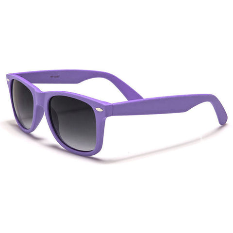 Sunglass Club Wayfarer Sunglass 8032S Series for Violet with Purple Tint Lens 8032S-VIOLET-B