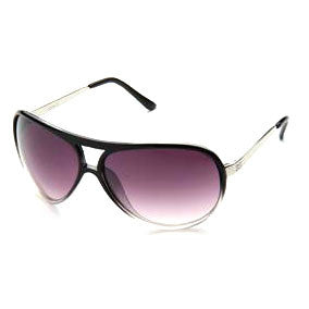 Sunglass Club Aviator Sunglass 8995 Series for Black Fade to Clear with Gray Tint Lens 8995-BLACKCLEAR-B