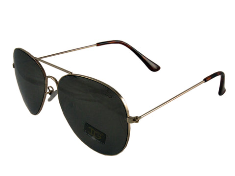 Sunglass Club Aviator Sunglass 9100 Series for Gold with Brown Frame Sides and Brown Tint Lens 9100-GOLD-BROWN-BROWN-B