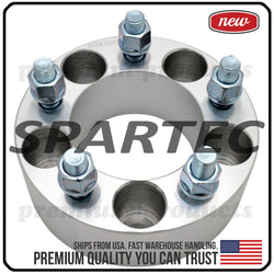 "Spartec Wheel Spacer (Single 1pc) for 50mm (2"") 5x114.3 5x4.5 1/2""x20 82.5 Center Bore WA-SPC-87232"