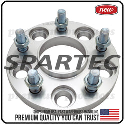 Spartec Wheel Spacer (Single 1pc) for 15mm 5x114.3 5x4.5 12x1.25 66.1 Center Bore Hubcentric WA-SPC-87233