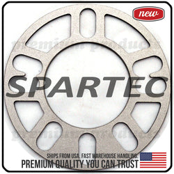 "Spartec Wheel Spacer (Single 1pc) for 3mm 1/8"" 4x98, 4x100, 4x108, 4x110, 4x114.3, 4x120, 4x130, 5x100, 5x108, 5x112, 5x114.3, 5x115, 5x120, 5x130 WA-SPC-87237"