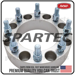 "Spartec Wheel Spacer (Single 1pc) for 50mm 8x170 6.7"" 14x1.5 125 Center Bore WA-SPC-87241"