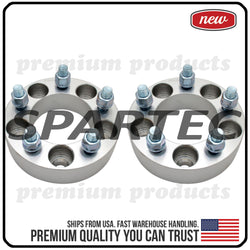 "Spartec Wheel Spacers (Pair 2pcs) for 2PC 38mm (1.5"") 5x114.3 5x4.5 82.5 Center Bore 1/2""x20 WA-SPC-87251"