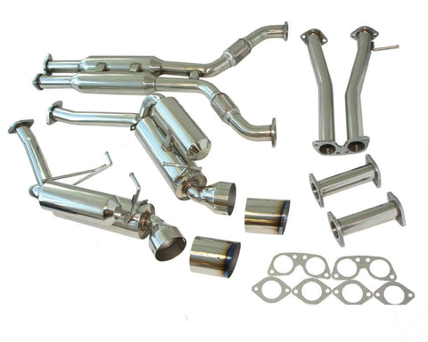 Manzo Performance Catback Exhaust Systems for 03-07 350Z/G35 Coupe + y pipe CBS-NN03
