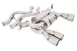 Megan Racing Axle Back Exhaust for 08-11 BMW M3 E90 4DR A13550