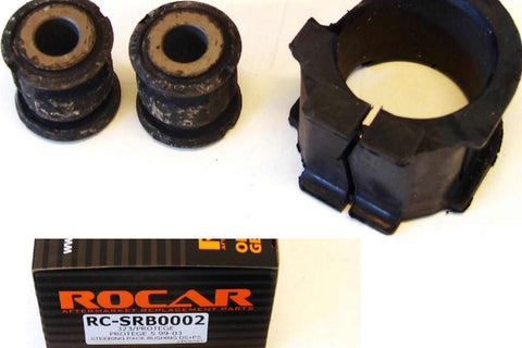 ROCAR Steering Rack Bushings for 99-03 Mazda Protege 323 Steering Rack Bushing Kits 3pcs RC-SRB0002