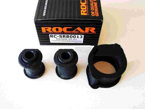 ROCAR Steering Rack Bushings for 00-03 Nissan Maxima Steering Rack Bushing Kits Fits DS PS 3pcs RC-SRB0013