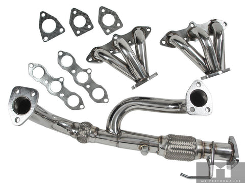 Manzo Performance Down Pipes for 98-02 Honda Accord 3.0L V6/ Acura CL/ TL99-03 Type S 3.0L V6 J30A1 TP-048