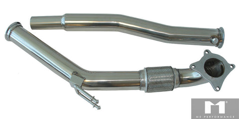Manzo Performance Down Pipes for 06+ VW GTI/JETTA/AUDI A3 2.0T 16V Turbo FSI ONLY TP-123