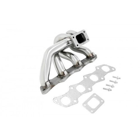 Manzo Performance Exhaust Manifolds for 89-98 Nissan 240SX  S13 / S14 KA24DET T3 / T4 Bottom Mount Turbo Manifold TP-136