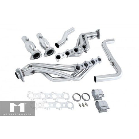 Manzo Performance Exhaust Headers for 99-04 FORD F-150 5.4L HEADER COMBO TP-204