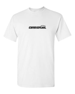 CarShopUSA Logo Tee Shirts for CarShopUSA Logo Tee Shirt - White (Medium)