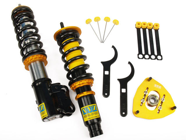 XYZ Super Sport Coilover System 1982-92 BMW E30 4Cyl OE φ51 (Rear Separated)
