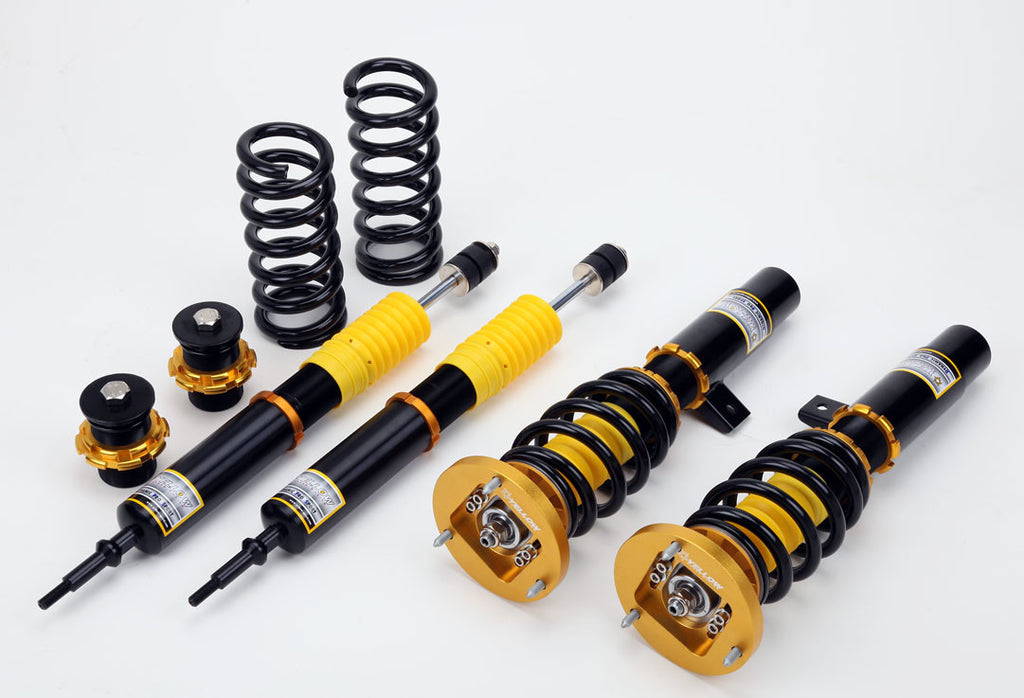 Yellow Speed Racing Dynamic Pro Sport (DPS) Coilover System 2004+ BMW 1-series E88 (convertible)