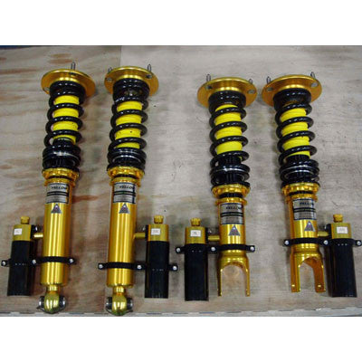 Yellow Speed Racing Pro Plus Coilover System 03-08 VW GOLF 5 MKV (strut dia.55mm,incl.GTI,2wd)
