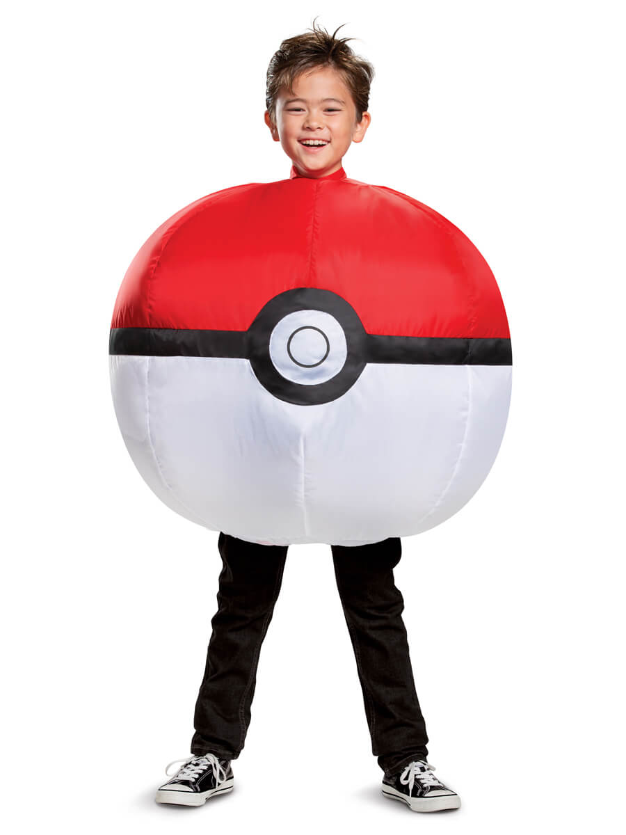 Poké Ball Inflatable Costume for Kids