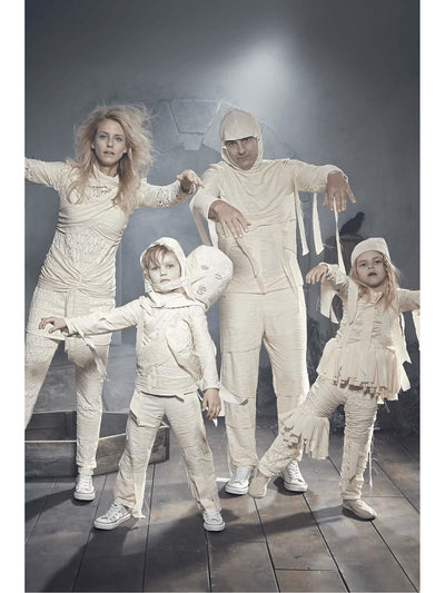 2-Headed Mummy Costume For Kids  ivo alt1