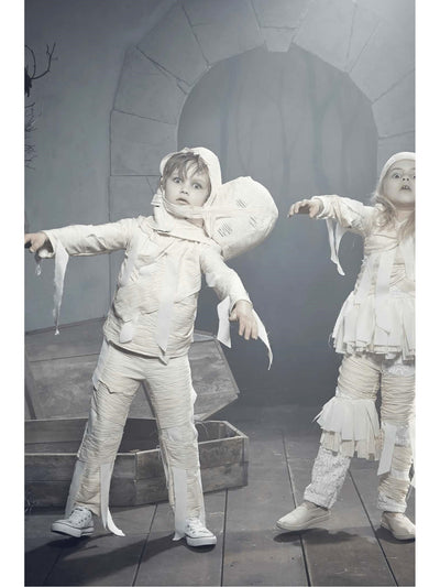 2-Headed Mummy Costume For Kids  ivo alt2