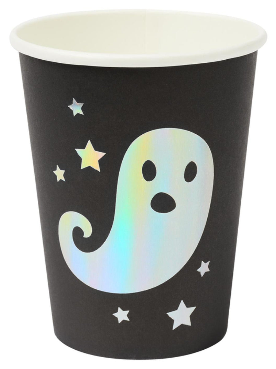 Halloween Tableware, Ghost Cups x8