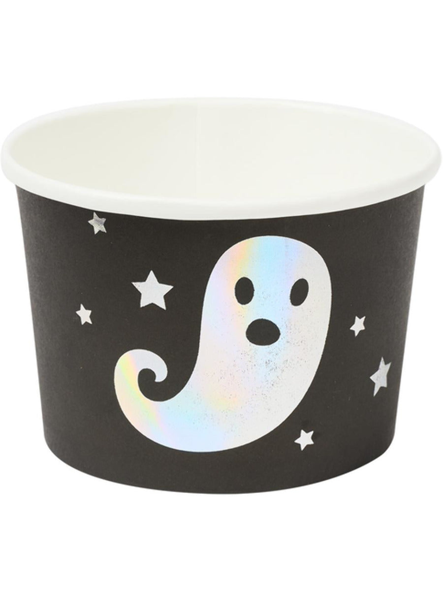 Halloween Tableware, Ghost Treat Tubs x8