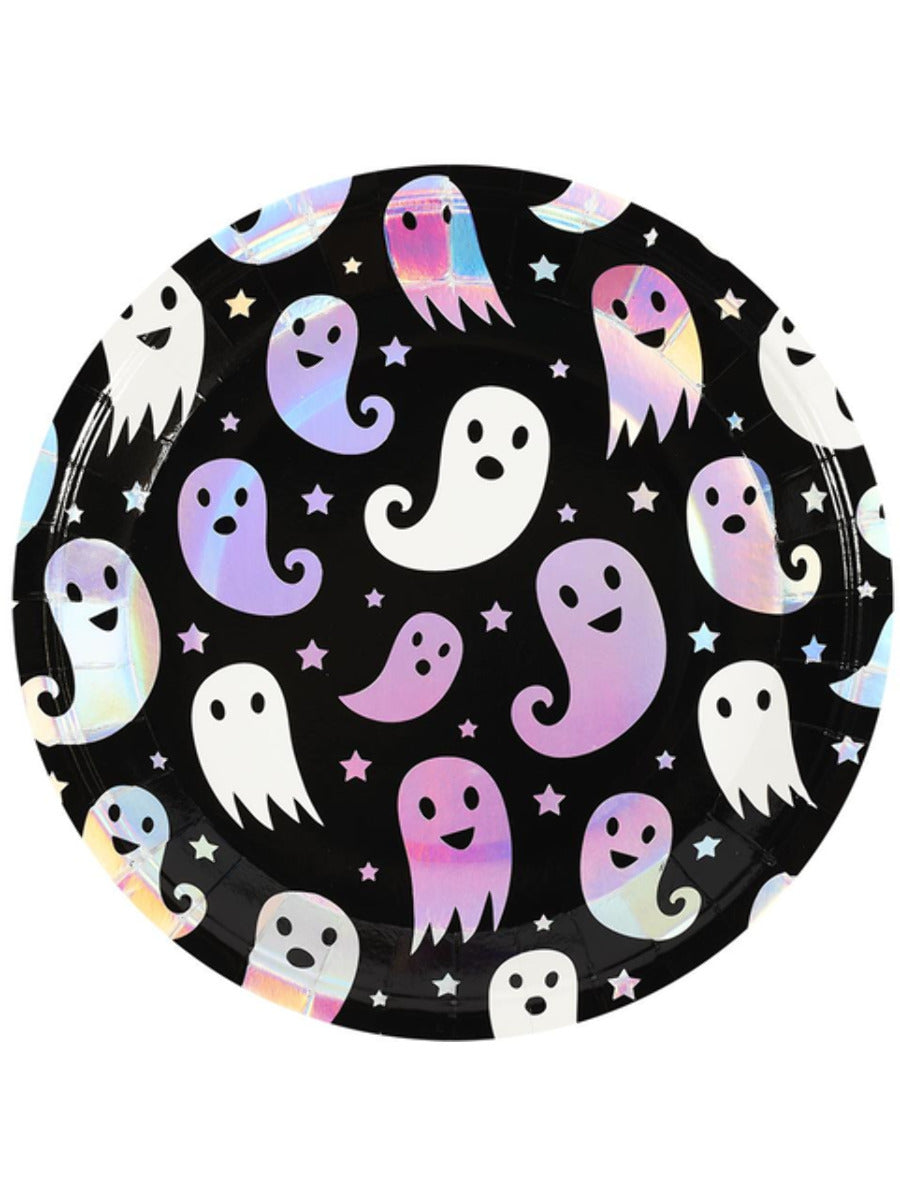 Halloween Tableware, Ghost Print Plate x8