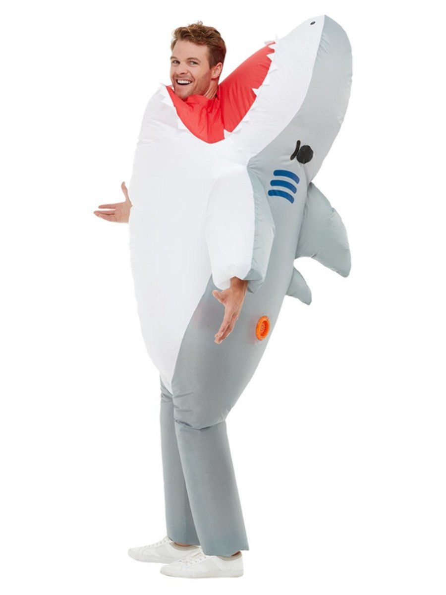 Inflatable Shark Attack Costume