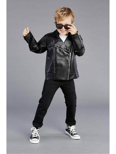 '50s Greaser Jacket for Boys  bla alt1