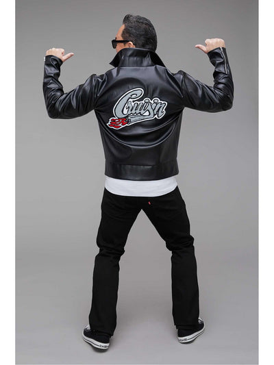 '50s Greaser Jacket for Men  bla alt1
